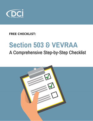 503 & VEVRAA Checklist