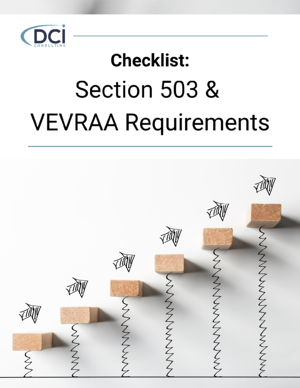Checklist Section 503 VEVRAA
