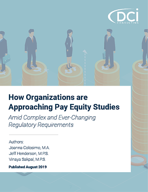 How Organizations are Approaching Pay Equity Studies Amid Complex and Ever-Changing Regulatory Requirements
