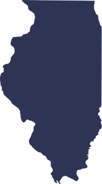 Illinois State Outline