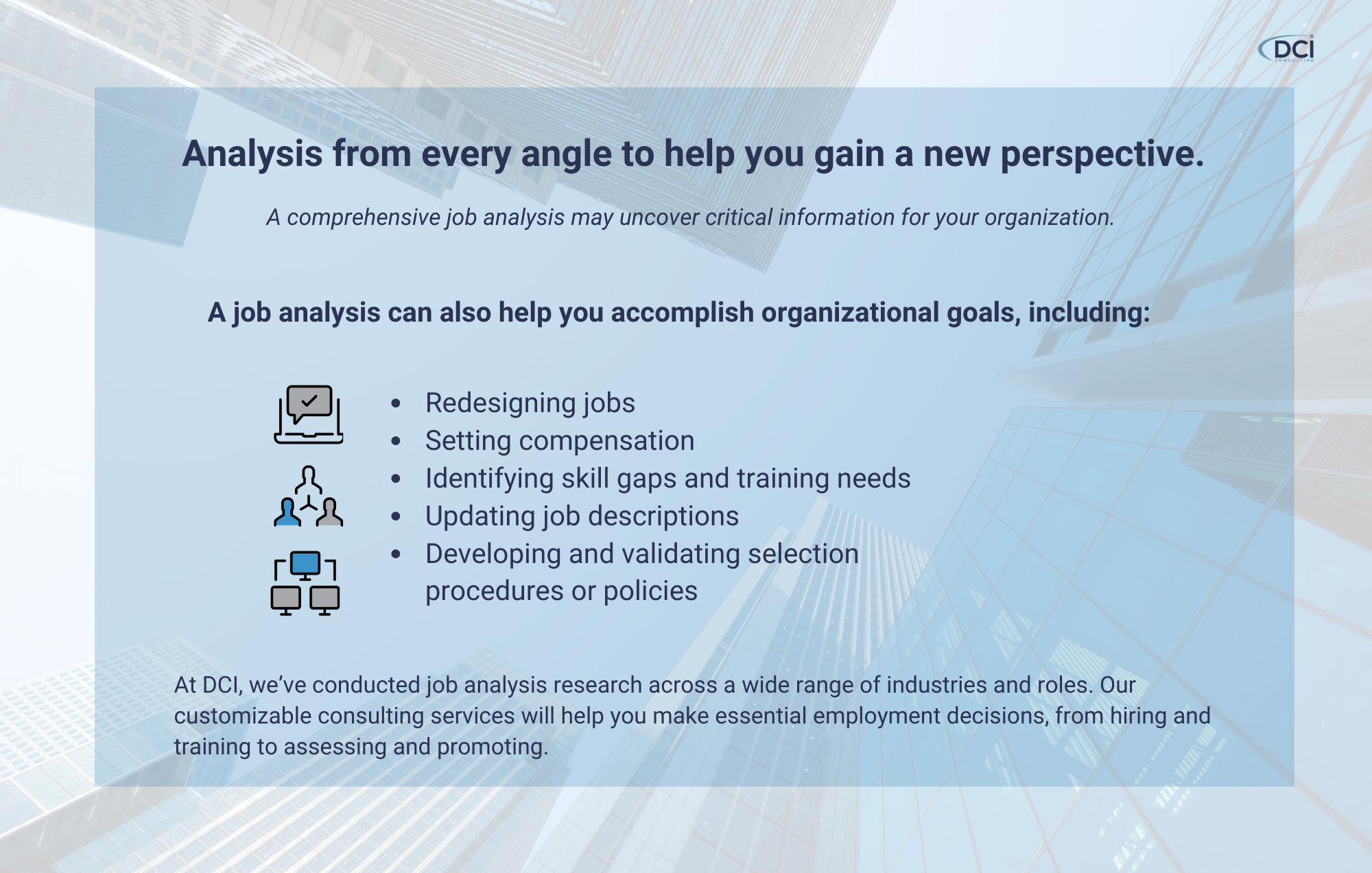 Job Analysis Image