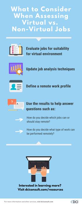 Assessing Virtual Nonvirtual Jobs