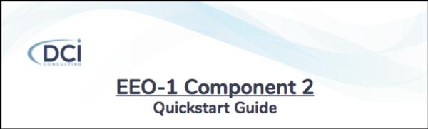 EEO-1 Component 2 Quickstart Guide